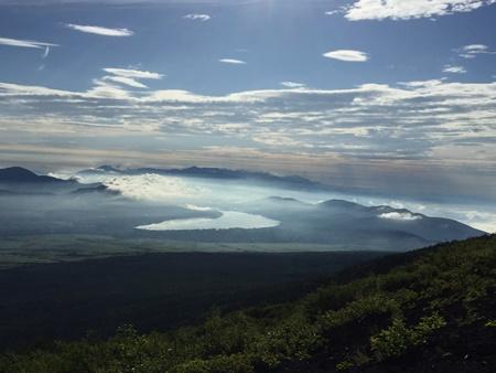 富士登山競走6合目